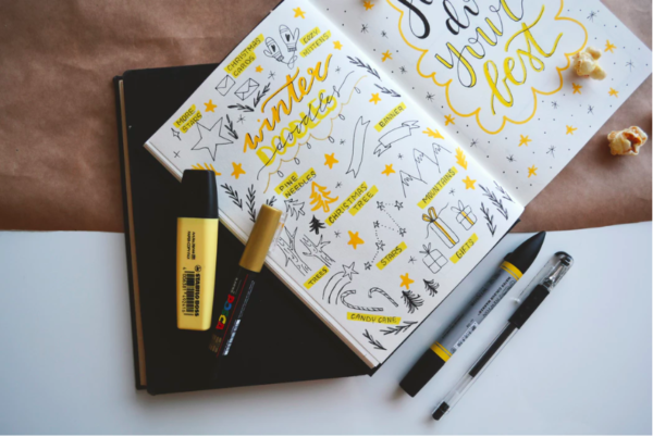How I Use A Simple Notebook to Plan My Day…It's Wicked Easy